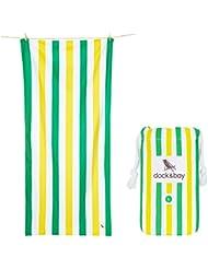 Mikrofaser Handtücher - Strand & Reisehandtuch - Schnelltrocknend, leicht, ultra saugfähig (Groß XL 200x90cm, L 160x80, Rund 190cm) Strandhandtuch, Yoga, Badetuch, Saunatücher, Sportshandtuch