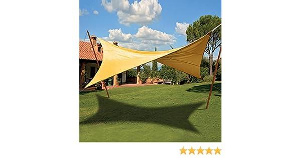 Tenda A Vela Quadrata : Verdelook tenda ombreggiante a vela quadrata di colore verde