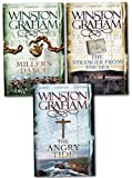 Winston Graham Collection 3 Books Set (Poldark Series Books 7 8 9), (The Angry Tide: A Novel of Cornwall 1798-1799, The Stranger From The Sea: A Novel of Cornwall 1810-1811 and The Miller's Dance: A Novel of Cornwall 1812-1813)