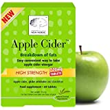 New Nordic Apple Cider High Strength Food Supplement - Pack of 60 Tablets