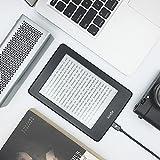 Micro USB Kabel Nylon 2m – Rampow® 2A [ Micro USB Schnellladekabel ] geflochtenes Ladekabel – Lebenslange Garantie – High Speed Sync und Ladekabel für Android Smartphones, Samsung Galaxy, HTC, Huawei, Sony, Nexus, Nokia, Kindle und mehr – Space Gray - 5