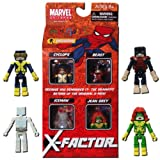 Marvel Minimates Exclusive 4Pack XFactor Cyclops, Jean Grey, Iceman & Beast