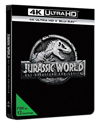 Jurassic World: Das gefallene Königreich (4k UHD) Limited Steelbook (exklusiv bei Amazon.de) [Blu-ray] [2 DVDs]