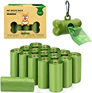 VanStar Biodegradable Scented Pet Waste Bags for Dog Cat, 16 Rolls Total of 240, Extra Thick Large Leak Proof