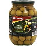 Gourmet - Aceitunas con hueso - Sabor anchoa - 500 g
