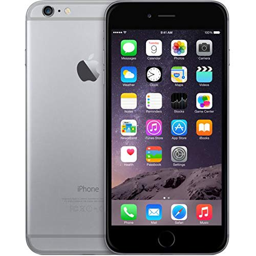 Apple iPhone Plus FaceTime Space - Apple iPhone 6 Plus with FaceTime - 16GB, 4G LTE, Space Grey