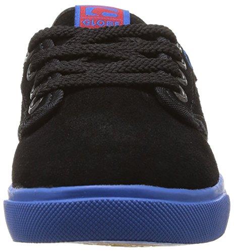 Globe Motley, Baskets mode mixte enfant Noir (Black/Cobalt)