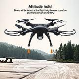 AMZtronics Drone con Telecamera 720P HD Camera WiFi FPV Hover Drone Camera Regolabile Telecomandato ,Modalità senza testa, 3D Flips by AMZtronics
