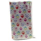 Softcase Tasche für doro 8031c 4,8-5,1 Zoll Hülle Etui