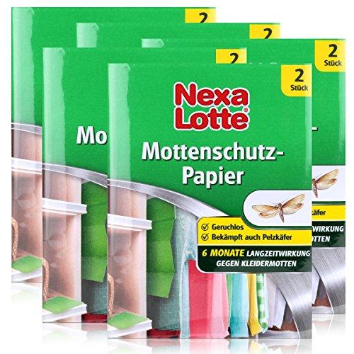 Nexa Lotte Mottenschutz 2 stk. - Schützt 6 Monate gegen Kleidermotten (5er Pack)
