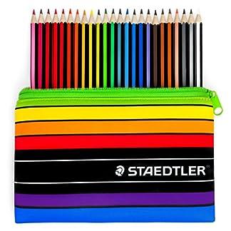 Staedtler–Noris Color–24x Wopex–Lápices de colores y estuche a juego, 185C24