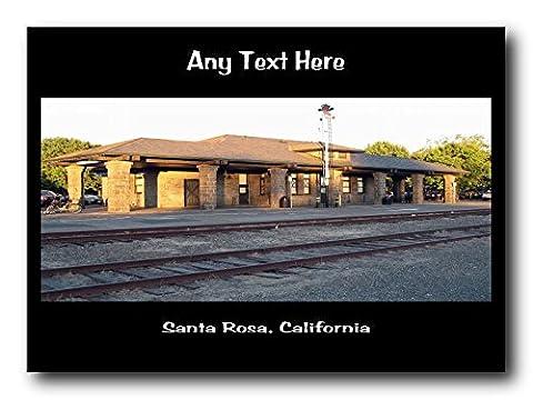 Santa Rosa, California Personalised Mousemat