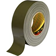 3M 7000111474 Scotch Gewebeklebeband, 389, 50 mm x 50 m, 0,26 mm, Oliv