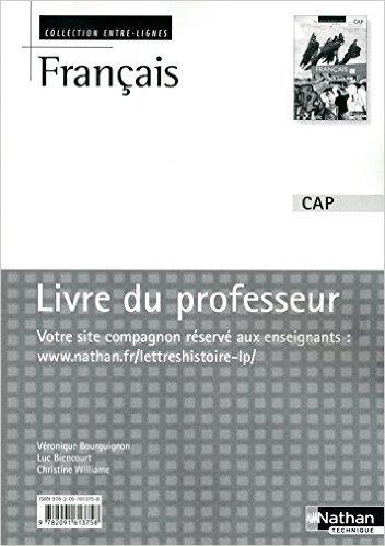 Français CAP de Luc Biencourt,Véronique Bourguignon ,Christine Williame ( 23 juin 2010 )