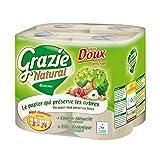 Grazie Pack di 8 rotoli di carta igienica ecologica Maxi