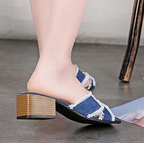 pengweiPanno donna con pantofole con sandali estivi 1