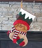 Weihnachtsstrumpf für Weihnachtsdekoration, Rentier