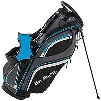 Ben Sayers Men's 14 Way Divider Stand Bag - Black/Blue