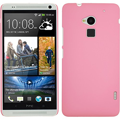 phonenatic-htc-one-max-hulle-rosa-gummiert-hard-case-fur-one-max-2-schutzfolien
