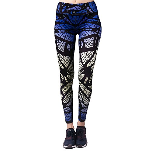 Barbok donna yoga pantaloni leggings opaco allenamento yoga fitness pantaloni sportivi sport pants running yoga athletic pants palestra yoga tuta collant elastico pantaloni style b,xl