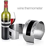 Alcoa Prime Safety Red Wine Thermometer Sensor Meter 4-24 Degrees Centigrade range HJ3
