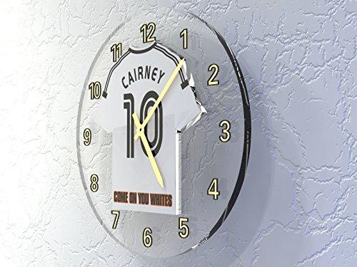 Wanduhr Sky Bet Championship Fußballliga–Fußball-Set Wanduhren–personalisierbar Fulham FC Football Club Clock