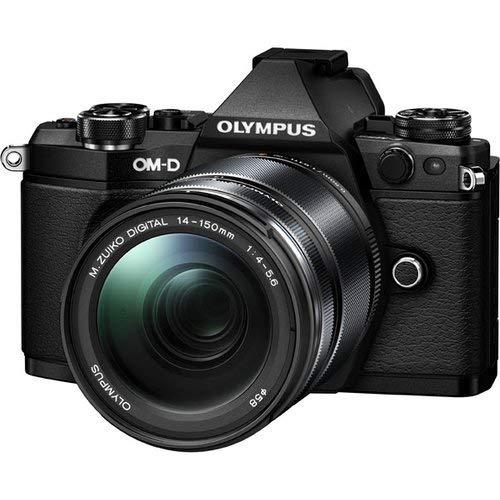 Olympus E-M5 Mark II 14-150 II Kit Fotocamera OM-D E‑M5 MARK II e Obiettivo M.ZUIKO Digital ED 14‑150mm 1:4.0‑5.6 II, Nero