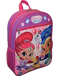 Preisvergleich für Shimmer & Shine , Mädchen Kinderrucksack Violett Violett/Pink L