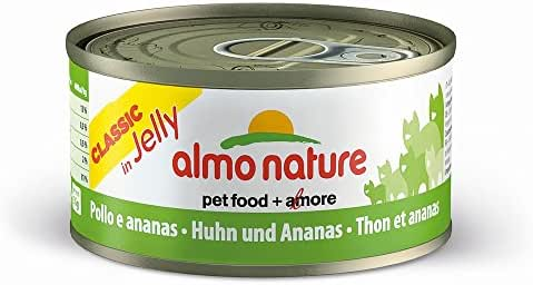 Almo Nature : Alimentation Chat : Patée Poulet Ananas 70g