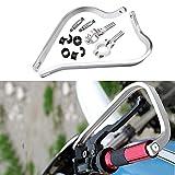 Triclick Protèges Mains 7/8 22mm Moto Universel Handguards Protecteur Blanc