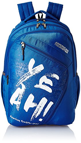 American Tourister 27 Ltrs Blue Casual Backpack (AMT VOLT BACKPACK 01 – BLUE)