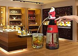Santa Clause Round Beer liquor dispenser for Christmas gift