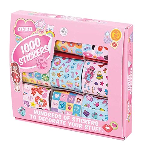 Tobar 1000 Sticker Für Mädchen - 9 Blätter