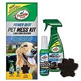 Turtle Wax pour animal domestique Mess kit pour animal domestique, taches, anti-odeur et cheveux Remover pour maison ou voiture