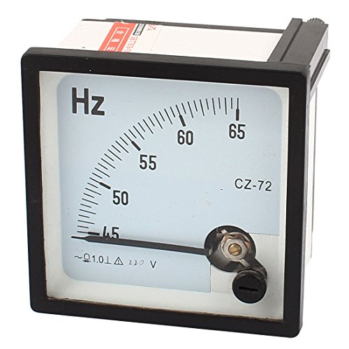 1.0Genauigkeitsklasse 45-65Hz Frequenz Tester Analog Panel Meter AC 220V