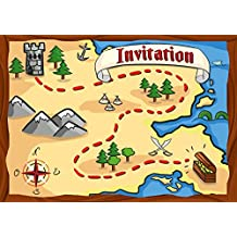 Carte invitation anniversaire - Invitation anniversaire garcon pirate ...