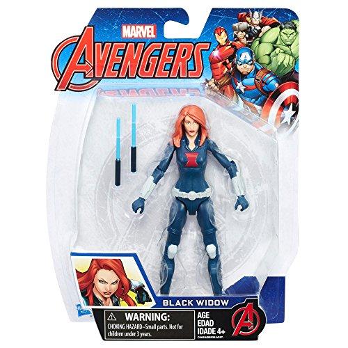 Hasbro Marvel Avengers Black Widow 1pieza(s) Niño/niña - Figuras de Juguete para niños, 4 año(s), Niño/niña, Acción / Aventura, Marvel Avengers, 152,4 mm