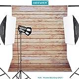 Neewer®, pannello in poliestere a righe effetto legno da 152x 213cm, sfondo per studi fotografici e di registrazione (solo scenografia)-