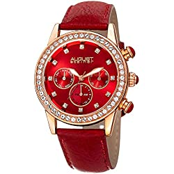 August Steiner Reloj con movimiento cuarzo suizo Woman AS8236RD 39 mm