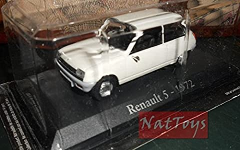 Renault 5 1972 RBA Auto Indimenticabili Unforgettable Car DIE CAST 1:43