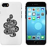 Blanc 'Serpent Enroulé' étui / housse pour iPhone 7 (MC00062418)