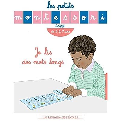 Les Petits Montessori Je lis des mots long
