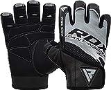 RDX Fitness Handschuhe Trainingshandschuhe Handgelenkstütze Kurzer Riemen Sporthandschuhe...