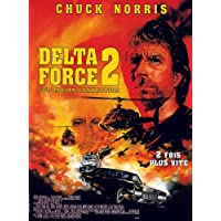 Delta Force 2: Il Tiple Connection-Poster Movie francese, 11 In 28 x 17 cm x 44 cm