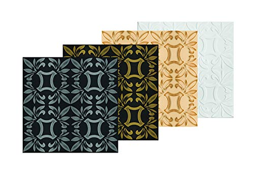1 qm   Deckenplatten   XPS   formfest   Hexim   50x50cm   Nr.112 C-SV