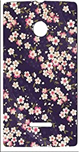 FCS® Back Case For Microsoft Lumia 435 [Pattern-119]