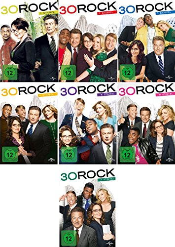 30 Rock - Die kompletten Staffeln 1-7 im Set - Deutsche Originalware [19 DVDs]