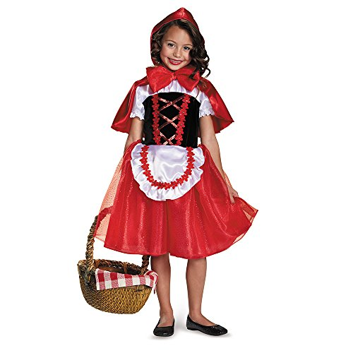 Disguise 84091M Little Red Riding Hood Costume, X-Small (3T-4T) by (X Small Red Riding Hood Kostüm)