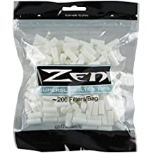 200 ZEN Superslim Cigarette Filter Tips