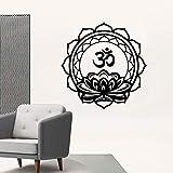 ganlanshu Mignon Islamique Musulman étanche Vinyle Autocollant Papier Peint décoration de la Maison Chambre Art Vinyle Autocollant 42 cm x 42 cm
